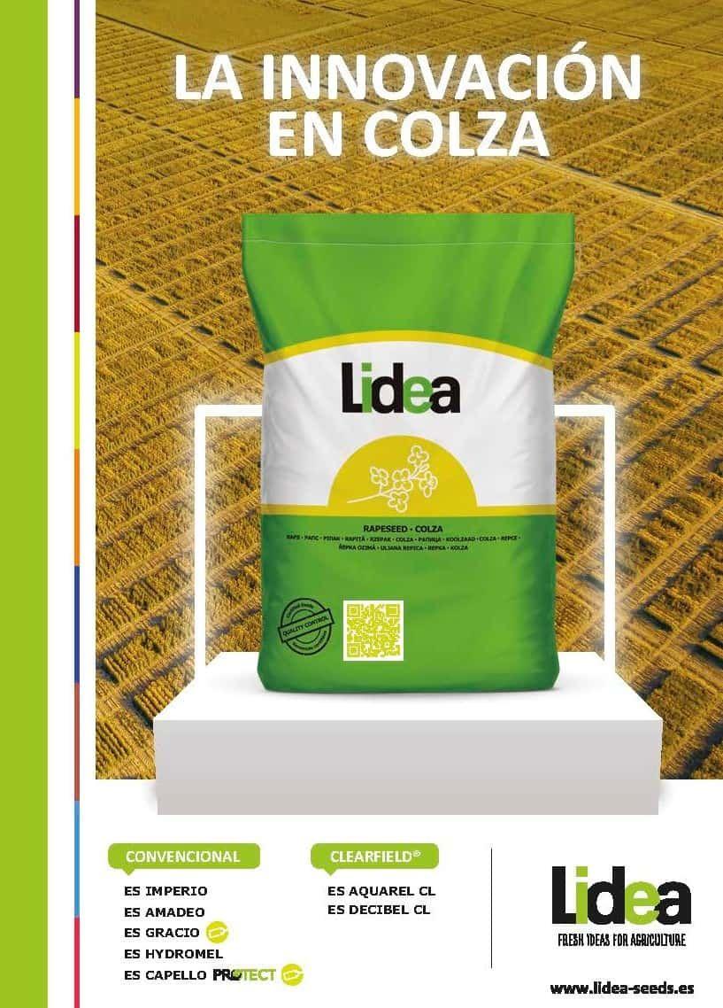 Lidea presenta la gama de colza más productiva, con grandes novedades en todos los se