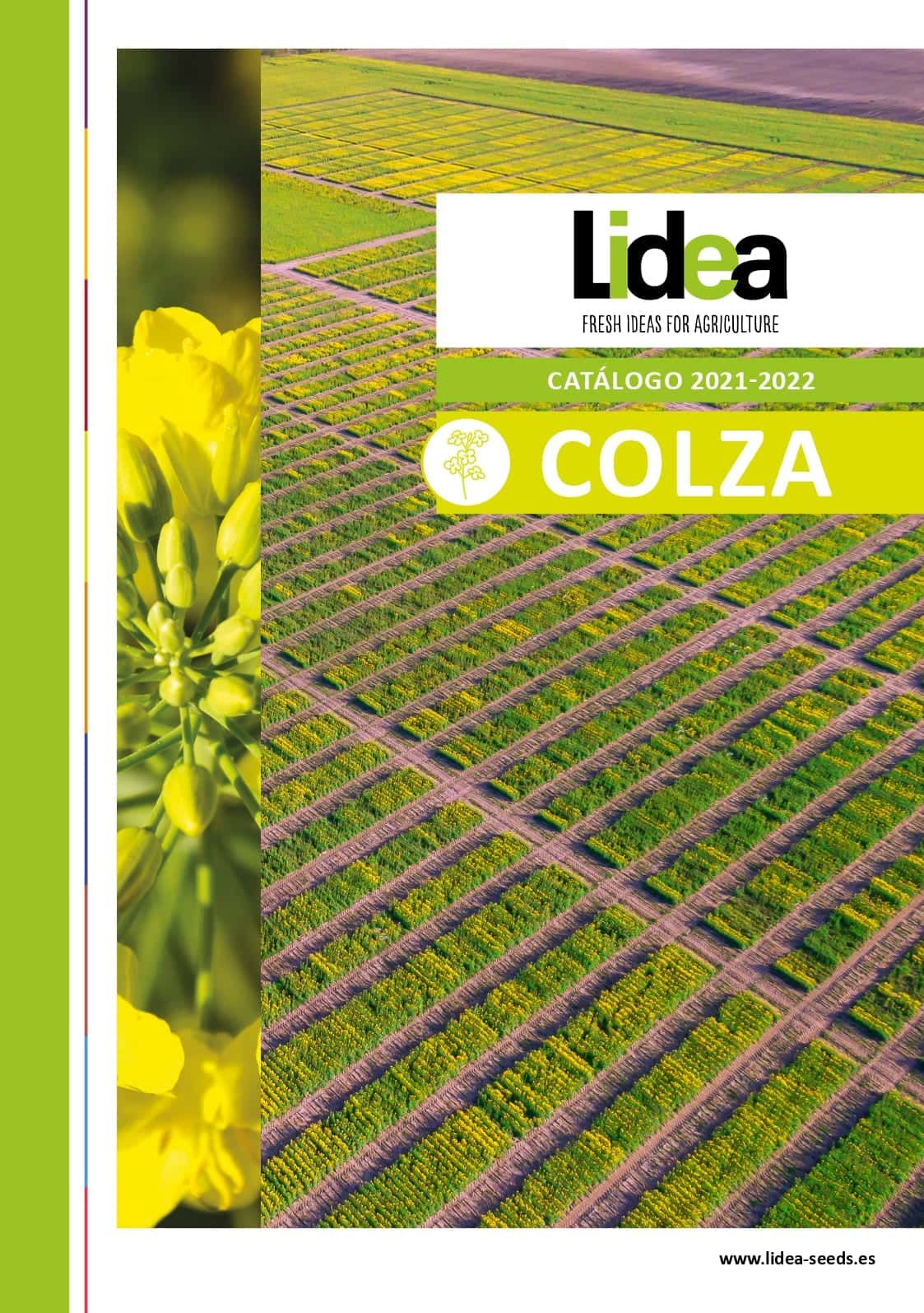 Catálogo Colza 2021-2022